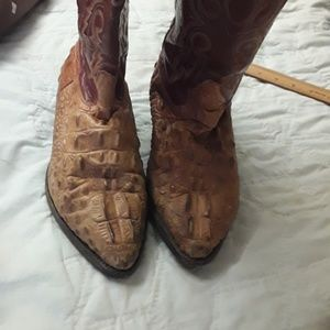 men's Rodeo brand crocodile boots